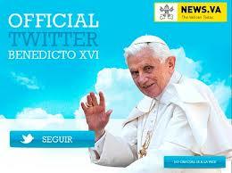 TWITTER BENEDICTO XVI