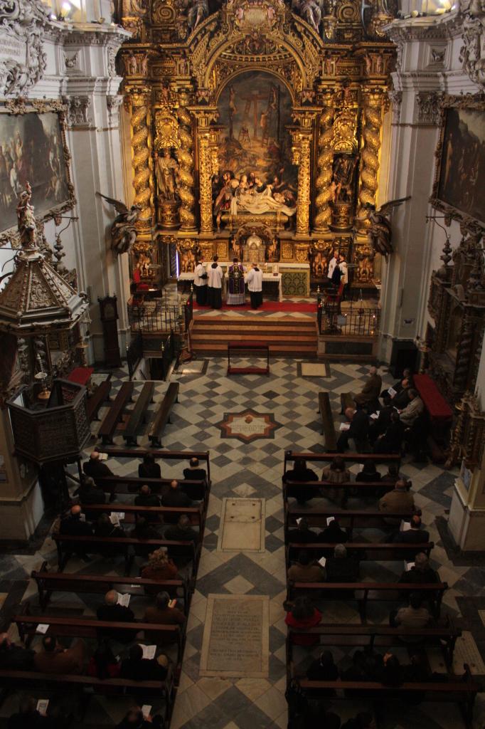 Primera Misa tradicional Caridad 2012