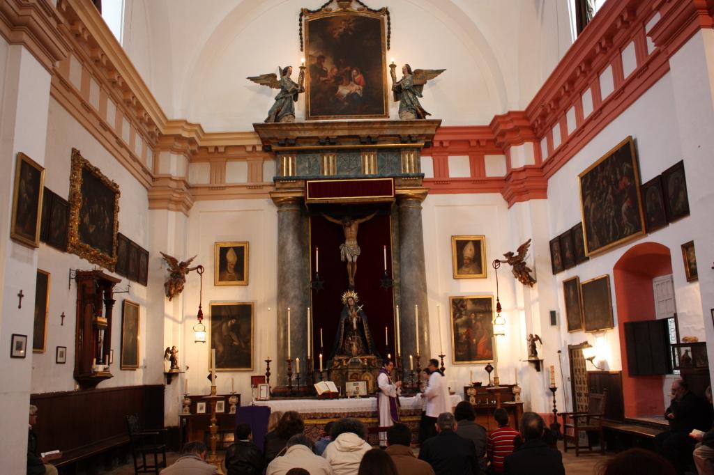 Primera Misa tradicional Escuela de Cristo 2013