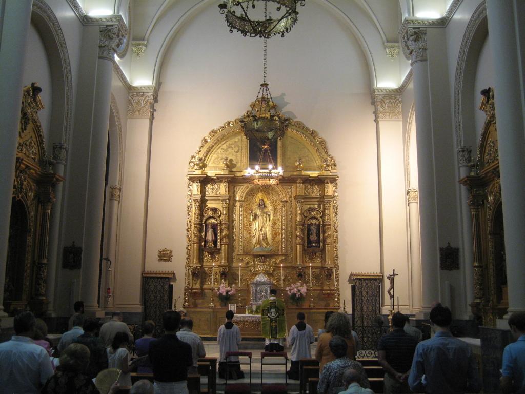 Primera Misa tradicional Salesas 2010