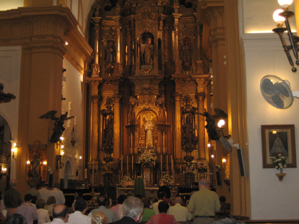 Primera Misa tradicional San Bernardo 2007